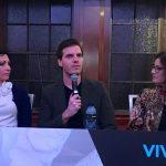 Vivid 2017 - Amelia Loye Jamie Skella and Daryl Darp presenting at Democracy is being disrupted
