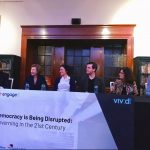 Vivid 2017 - Panelist table - Democracy is being disrupted