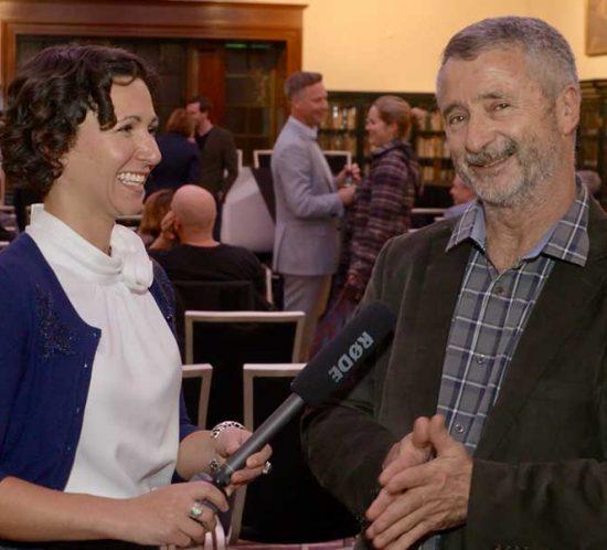 Amelia Loye Engaging with: Tom Burton, Publisher at the Mandarin