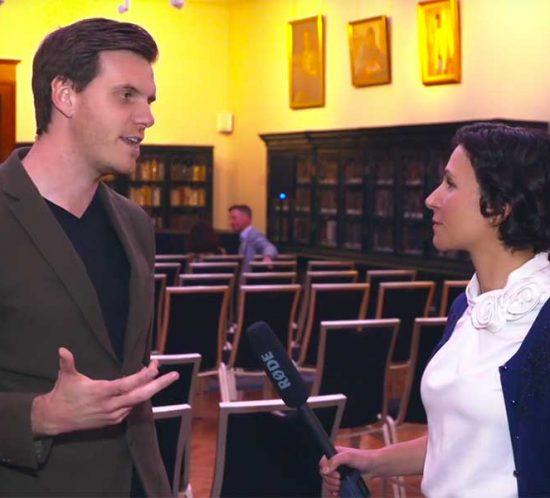 Amelia Loye Engaging with: Jamie Skella, Co-founder of Horizon State