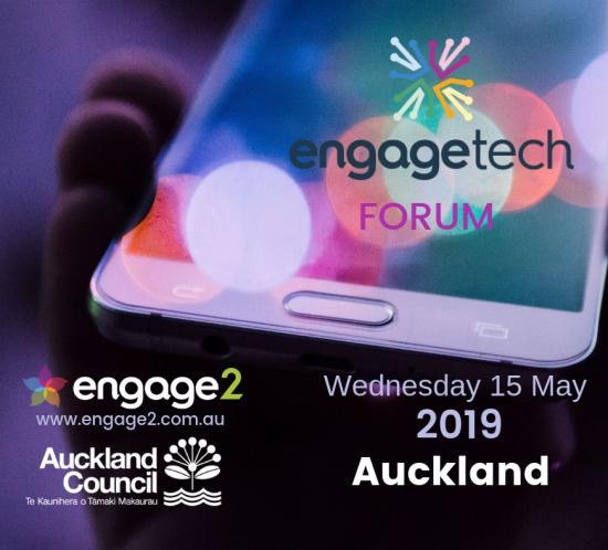 EngageTech Forum 2019 Auckland