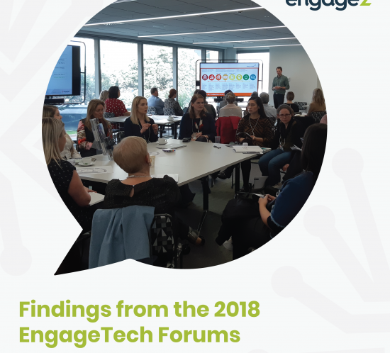 Engage Tech Forums findings 2018 Australia and New Zealand