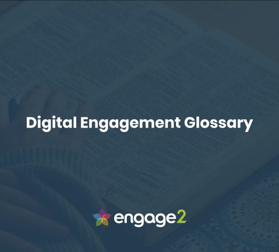 what is digital engagement glossary engage2