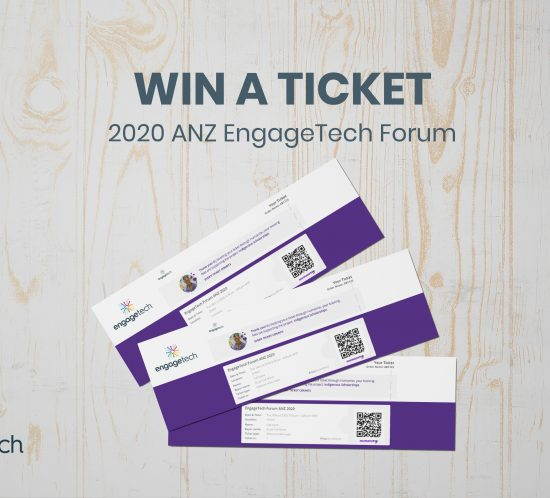 EngageTech Forum ANZ 2020 powered by engage2 tickets contest